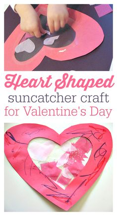 Valentine's day craft for toddlers and preschool!