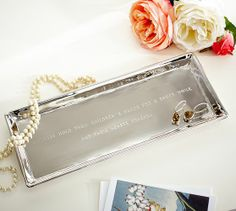 Mother's Day Sentiment Tray | Pottery Barn