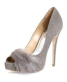 Badgley Mischka Shoes, Ginnie Peep Toe Platform Pumps - Evening & Bridal - Shoes - Macy's