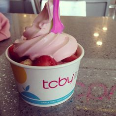 Yum is in the air! #tcby
