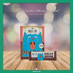 O Deli+ e Deli Deli disponíveis também na versão Zero açúcar😌<br />São deliciosos chocolate ao leite feito sem açúcar.Tão gostoso quanto a versãotradicional...tem gente que nem percebe a diferença, viu?<br /><br />Adquira agora na nossa loja online:http://bit.ly/2nxMkMN<br /><br />#milklandia #goldko #chocolatezeroacucar
