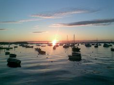 Sunset at Poole Harbour, Dorset, UK Seafarer, Britain, Boats, Sailing, Twin, Bridge, England, Spaces, Sunset