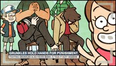Alex: Yes! They did it!!!! They HUG IT OUT!!!! - Beau: OMG THIS TEXT IS FROM ALEX HIRSCH!!!!!!!!