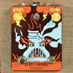 Fuzzrocious blast furnace for $15 free shipping
