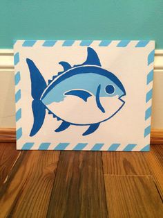 Southern Tide 8x10 canvas paintingperfect by MeredithsMonograms, $15.00