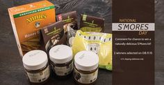 Happy #NationalSmoresDay! Comment on @eschocolate's  post for a chance to #win your own #free smores kit!