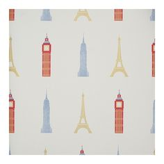 Monuments Wallpaper ($66) ❤ liked on Polyvore featuring home, children's room and children's decor