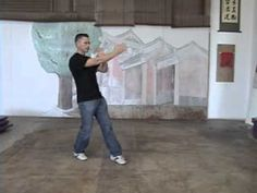 Footwork Ip Man Wing Chun 5th of 5 Point Stepping by Sifu Anderson - YouTube
