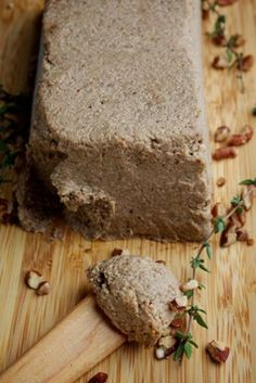 The herb-infused lentils are such a nice element of this pâté that you might consider making extra and using the leftovers, including their liquid, to sauce pasta or rice. Vegan Vegetarian, Vegetarian Recipes, Cooking Recipes, A Food, Good Food, Food And Drink, Pate Recipes, Dips, Vegan Appetizers