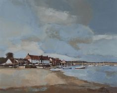 John Newland was born in Norwich. He attended Norwich Art School, studying illustration, before joining the Design Department at Jarrold Printing. Edgar Payne, Makes Me Wonder, Design Department, Landscape Paintings, Landscapes, Art School, Contemporary Artists, Water Colors, Gallery