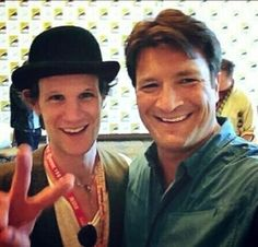 Looks like the Captain found a new Doctor. Firefly and Doctor Who