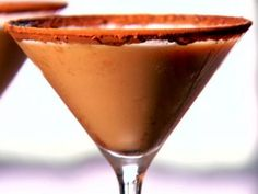 A delicious Chocolate Martini by the charming Neelys on Food Network!