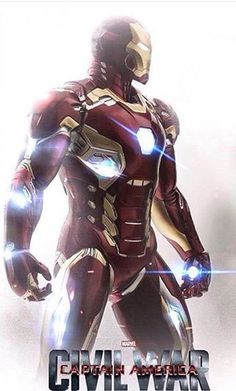 'Team Iron Man' - 'Captain America: Civil War' (2016)