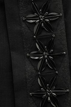 Marni|Appliquéd cotton-blend twill skirt|NET-A-PORTER.COM