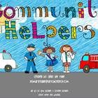 This 61 page community helpers unit focuses on the following 11 jobs: doctor, nurse, dentist, police officer, teacher, paramedic, farmer, firefight...