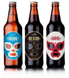 Cervecería Sagrada, Mexican Craft Beer  - TheDieline.com - Package Design Blog