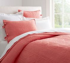 Hanna Quilt and Sham http://www.potterybarn.com/products/hanna-quilt-sham/?pkey=e|rose|30|best|0|1|48||1&cm_src=PRODUCTSEARCH