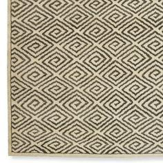 Graphic Greek Key Rug | Williams-Sonoma