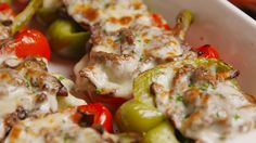 Cheesesteak Stuffed Peppers  - Delish.com