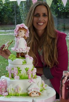 Pretty Cakes, Beautiful Cakes, Amazing Cakes, Fab Cakes, Girly Cakes, Cake Topper Tutorial, Adult Birthday Cakes, Sarah Kay, Biscuit