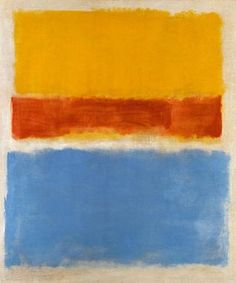 Mark Rothko No. 14 (Horizontals, White over Darks) 1961