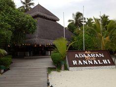 Adaaran Club Rannalhi, Maldives. Amazing place.