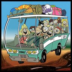 The Louds are off to their family road trip! So Loud Crowd, pack your stuff and go with them this March on 🚐 💼 🎒 Cartoon Games, Cartoon Characters, Sisters Tumblr, Loud House Sisters, The Loud House Lincoln, The Loud House Fanart, Loud House Characters, Drawing Superheroes, 2nd Anniversary