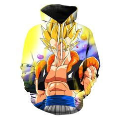 Super Saiyan Gogeta Dragon Ball Z Hoodie