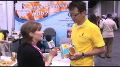 Vegan Seafood at Expo West Delicious Vegan Scallops?  Marie chats it up with Sophie's Kitchen, a tasty seafod alternative.