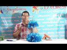 ¿Cómo hacer un centro de mesa de Frozen? Fácil y económico - YouTube