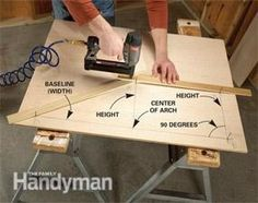 How to Cut Curves in Wood | The Family Handyman: