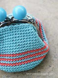 Airali handmade. Where is the Wonderland?: Coin purse with Natura just cotton