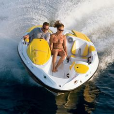 If you love water sports you'll surely adore the Sea-Doo 150 Speedster. With a Rotax Supercharged 255 HP engine, this sporty boat can reach a top speed of 96.6 kph (60 mph), and 48.2 kph (30 mph) i…