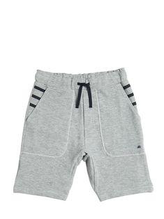 junior gaultier - niño - pantalones cortos - shorts de algodón piqué Streetwear Shorts, Men Style Tips, Monokini, Simple Outfits, Sportswear, Street Wear, Bikini, How To Wear, Clothes