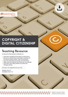 Digital Citizenship, Copyright and Cyber Safety