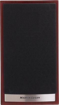 MartinLogan - Motion Passive Bookshelf Speaker (Each) - Red Walnut Bookshelf Speakers, Bookshelves, Take You Home, Speaker System, Magnolia Homes, 2 Way, Your Music, Acoustic, Bass