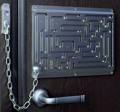 cool front doors   cool door locks