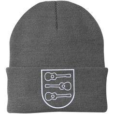 Ukulele Crest Knit Cap
