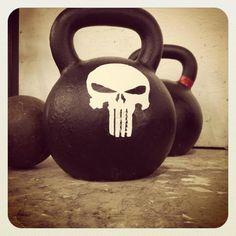 kettlebell | punisher - fitness motivation