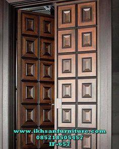 Unique 50 Modern And Classic Wooden Main Door Design Ideas - Engineering Discove. Single Door Design, Home Door Design, Double Door Design, Door Design Interior, Exterior Design, House Main Door Design, Gate Design, Industrial Front Doors, Wooden Front Doors