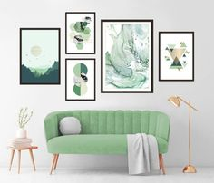 Gallery Wall Set of 5 Scandinavian Abstract Prints, Mid Century Modern Wall Art, Geometric Prints, Minimalist Turquoise Marble Printable Art Marble Printable, Printable Wall Art, Modern Gallery Wall, Modern Wall Art, Turquoise Wall Art, Black And White Posters, Marble Wall, Wall Art Sets, Abstract Wall Art