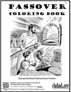 Passover Coloring Book for Kids - #passover
