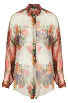 Oversize 3 Floral Shirt