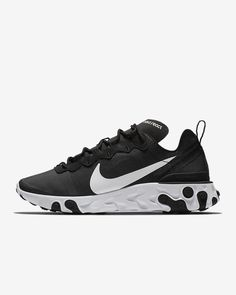 competitive price 78879 41a6c Nike React Element 55 Women s Shoe Running Shoes Nike, Air Max Sneakers, Sneakers  Nike