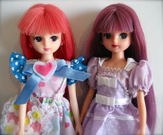 Color-changing Hair Licca-chans! | Flickr - Photo Sharing!