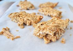 Peanut Butter Granola Bars from mywholefoodlife.com