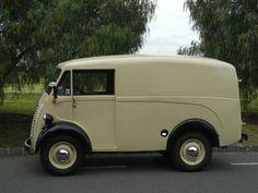 Morris JB-van circa 1959