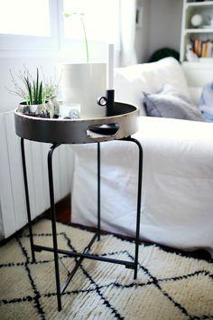 Mesa auxiliar estilo nórdico industrial Industrial nordic style side table