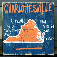 Had it customized for Williamsburg/William and Mary. Also ordered two for va tech/Blacksburg. Great gift. Inexpensive. $30. Got it at bourbon and boots. Also liked the Facebook page - simply southern signs . Grade A+. Cg