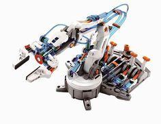 DIY kit Hydraulic Robot Arm                                                                                                                                                                                 More